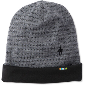 Smartwool Merino 250 Pattern Cuffed Beanie medium grey tick stitch